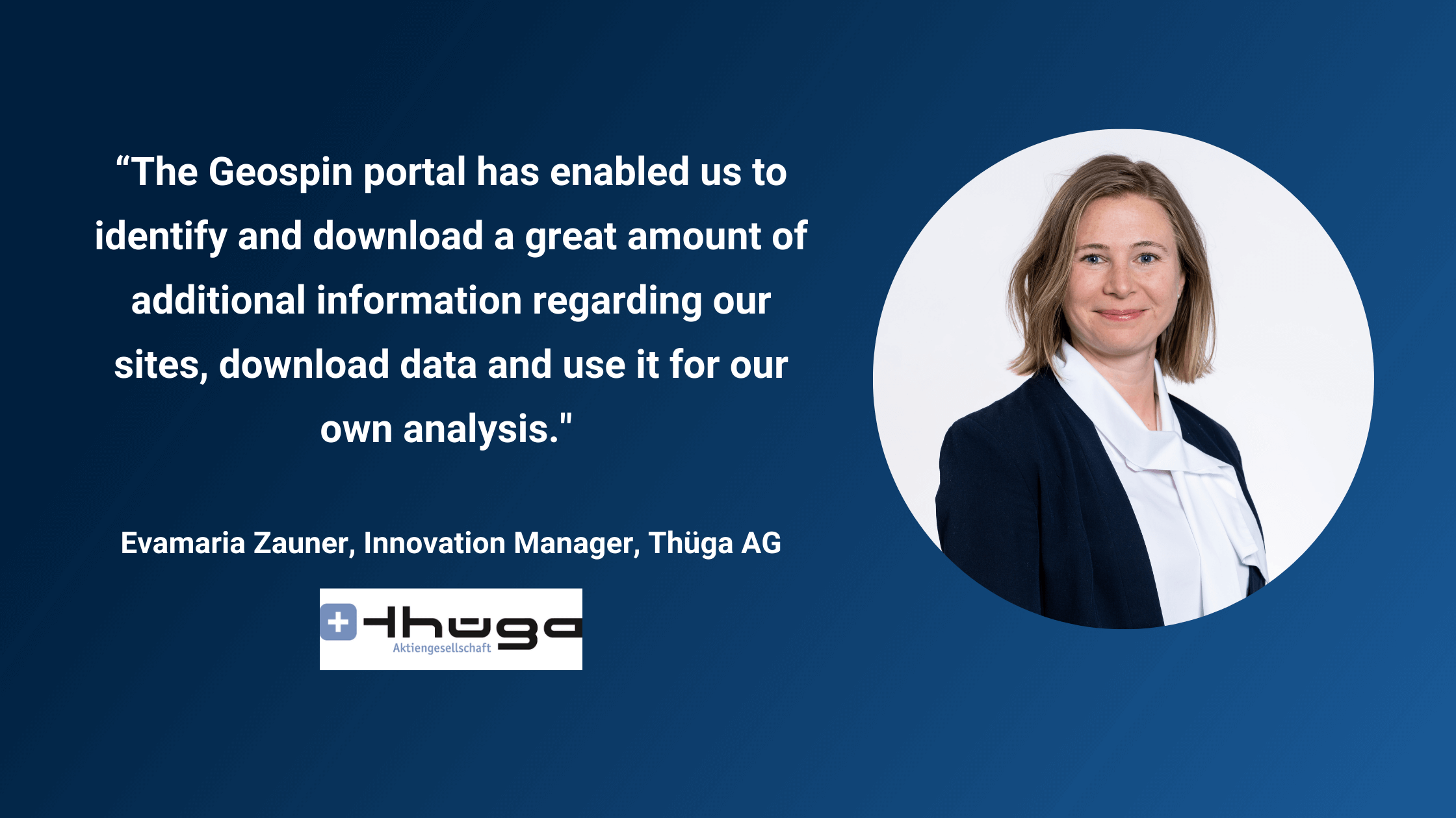 The Upload and Download function. How Thüga got straight to its own analysis with the Geospin portal. A field report.